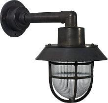 Schiffslampe Docklight Schwarz