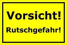Schild - Vorsicht Rutschgefahr - 15x20cm, 30x20cm
