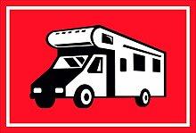 Schild - Wohnmobil - 15x20cm, 30x20cm und 45x30cm