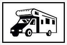 Schild – Wohnmobil – 15x20cm, 30x20cm und