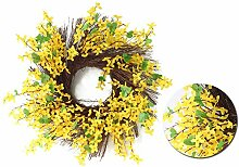 Schildeng Winter Jasmine Garland - Forsythia