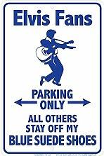 Schilder 4Fun Elvis Wildleder, Kleiner Parken