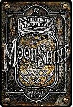 Schilder 4Fun Moonshine Jar klein Parken Schild