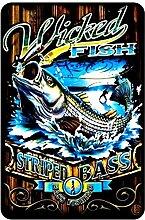 Schilder 4Fun Wicked Bass Kleiner Parken Schild