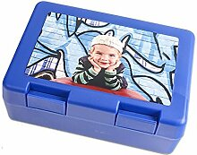 Schilderfeuerwehr Brotzeitbox für Kinder mit Foto