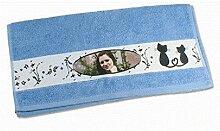 Schilderfeuerwehr Handtuch mit Foto und Namen oder