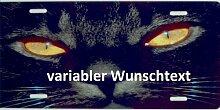 Schilderfeuerwehr Katzenschild mit Namen oder