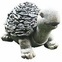Schildkröte in Steinoptik aus Polyresin,