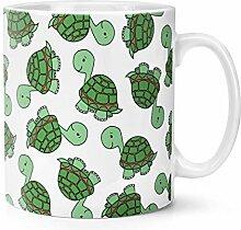 Schildkröte Muster 283g Becher Tasse