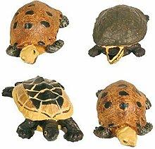 Schildkröten und Frösche 12 Stück Dekoartikel