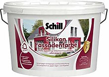 Schill Silikon Fassadenfarbe 10 Liter