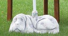 Schirmständer Dackel (S227R) Gartendeko