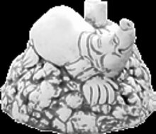 Schirmständer Maulwurf (S547R) Gartendeko