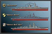 Schlachtschiff Deutschland Admiral Scheer GRAF