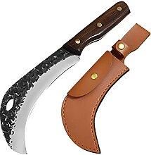 Schlachtung Fleisch Schneiden Messer Geschmiedet