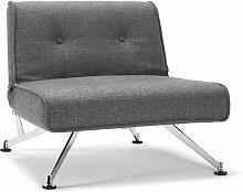 Schlaf-Sessel Norton, grau