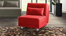 Schlaf-Sessel uni, 85x200 cm, rosé