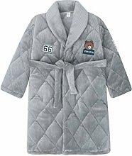 Schlafanzüge Nachthemd Winterkinder Jungen Robe