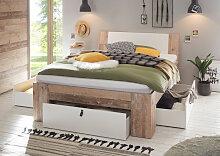 Schlafkontor Bett, mit viel Stauraum Liegefläche
