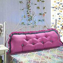Schlafsaal kissen Sofa-bett kissen Zurück Cute tatami rechteckige kissen-H Durchmesser100cm(39inch)