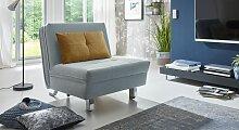 Schlafsessel Orsina Relax-Sessel blau