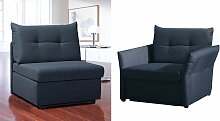 Schlafsessel Retford Relax-Sessel gelb