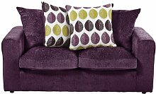 Schlafsofa Buford ClassicLiving Polsterung: Pflaume