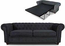 Schlafsofa Chesterfield Asti Bis 3-Sitzer, Sofa