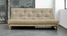Schlafsofa Cirata, 140x200 cm, braun