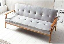 Schlafsofa mit Armlehnen, Skandinavisches Design,