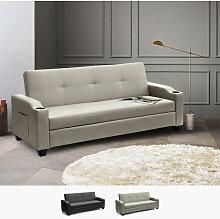 Schlafsofa Sofabett Couch Klappsofa 2 Sitzer
