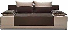 Schlafsofa Vera - Kippsofa Sofa mit Schlaffunktion