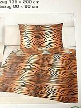 Schlafwohl Bettwäsche Zebra Muster mit
