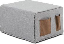 Schlafwürfel - Cube - Hellgrau