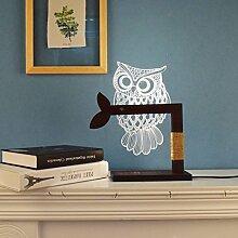 Schlafzimmer Arbeitszimmer Lampe Nachtlicht Tischlampen LED-kreative Lampe 3D-visuelle Erfahrung Gutes Geschenk,C