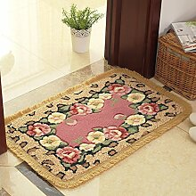 Schlafzimmer badezimmer door mat,bad wasserabsorbierenden anti-schleudern mat-A 50x80cm(20x31inch)