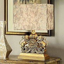 Schlafzimmer Bedside europäischen kreativen Dekoration Wohnzimmer Hotel Luxus personalisierte Schreibtisch Lampe