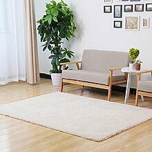 Schlafzimmer Bett Decke gepflastert Rechteck Rutsch super weich hautfreundlich waschbar Sofa minimalistisch modernen Wohnzimmer Couchtisch Teppich 140 * 200CM eng solide