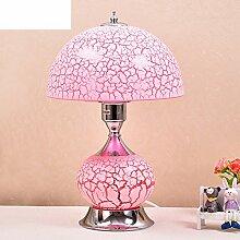 Schlafzimmer bett lampe Kreatives studium lampe Warmen lampe-Rosa