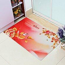 Schlafzimmer,Bett,Von Mat/Lobby Fußmatten/Küche,Die Tür,Entstaubung Mat/Indoor-matten/Von Mats-I 60x90cm(24x35inch)