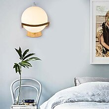 Schlafzimmer Bett Wandlampe LED modern Innere
