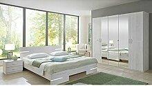 Schlafzimmer Caramella Eiche weiß 160* 200cm