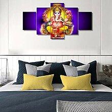 Schlafzimmer Dekor Wandkunst Ganesha Elefant
