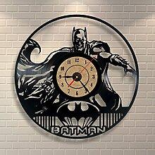 Schlafzimmer-Dekoration Wanduhr Batman Vinyl Record