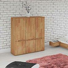 Schlafzimmer Highboard aus Buche massiv geölt