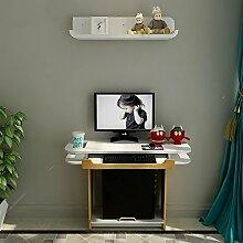 Schlafzimmer in der Nähe der Wand Computertisch,