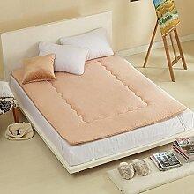 Schlafzimmer komfortabel atmungsaktiv TATAMI Matratze/Dicken warmen Matratze-B 180x220cm(71x87inch)