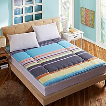 Schlafzimmer komfortabel atmungsaktiv TATAMI Matratze/Dicken warmen faltbare Matratze-D 180x200cm(71x79inch)