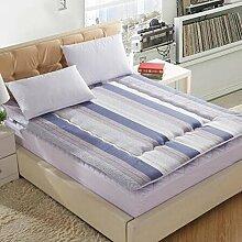 Schlafzimmer komfortabel atmungsaktiv TATAMI Matratze/Dicken warmen Matratze-D 90x200cm(35x79inch)