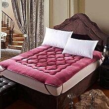 Schlafzimmer komfortabel atmungsaktiv TATAMI Matratze/Dicken warmen Matratze-A 100x200cm(39x79inch)